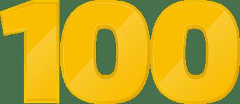 100 vestigingen