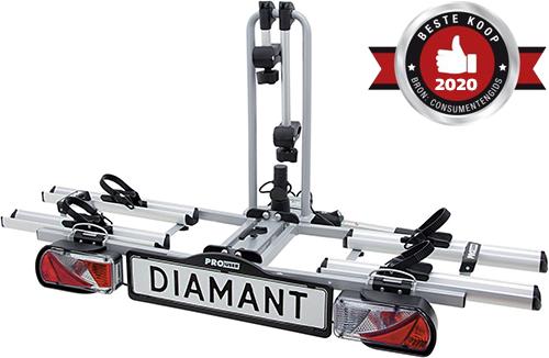 Pro-User Diamant opvouwbare fietsendrager - Beste Koop 2020
